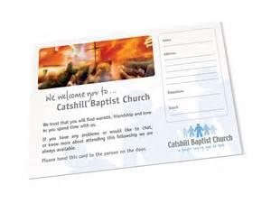 Creative Church Visitor Cards