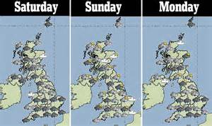 range weather forcast for uk uk weather could see 19 inches of snow gale winds and a foot of daily mail