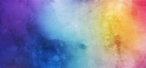 Watercolor Texture Blue Color Gradual Background Image