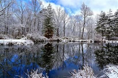 Winter Early Wallpapers Nature Landscape Snow Desktop