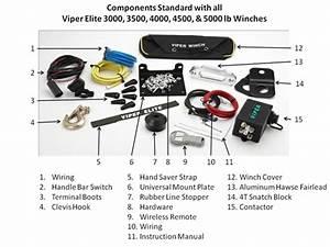 Viper Elite 3500lb Winch