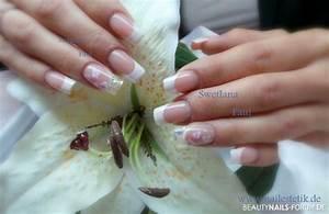 Bilder Mit Glitzer : 50 french manicure bilder mit nageldesign ~ Jslefanu.com Haus und Dekorationen