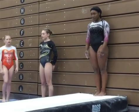 Watch This Badass Teen Gymnast Totally Nail A Seemingly Impossible Move