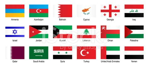 middle eastern countries flag how to get to like
