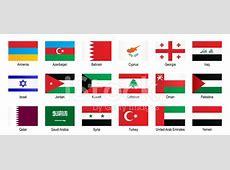 Flaggen Naher Osten stockfotos FreeImagescom