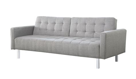 Light Grey Sofa Bed From Coaster Coleman Furniture
