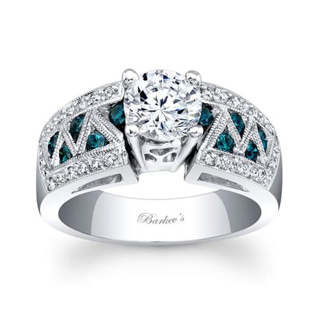 barkevs blue diamond ring lbd barkevs