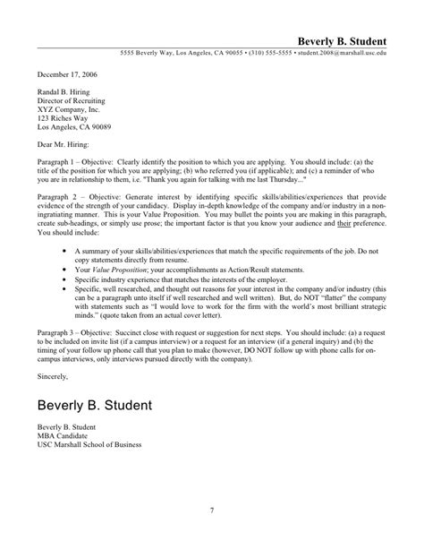 beverly b student guide to resumes and cover letters