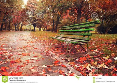 outdoor furniture plans free wooden sofa in a autumn season stock photo image