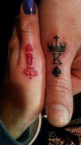 Matching tattoos King & Queen Crowns | Tattoos | Pinterest ...