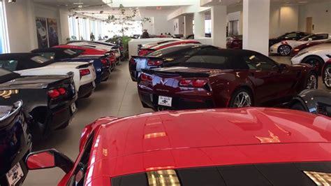 Over 200 Corvettes At Macmulkin Chevrolet! Youtube
