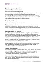 Types of contract | CIPD HR-inform
