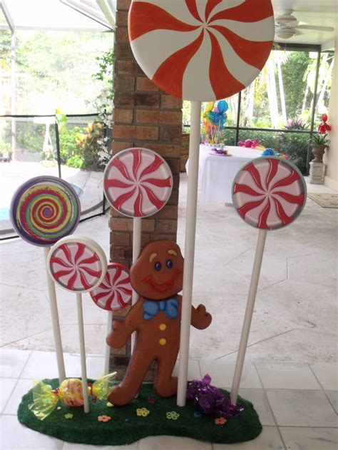 candy land decorations  life size game candy themed