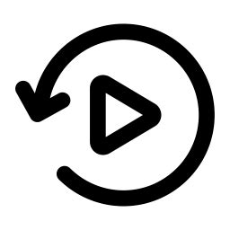 Replay Icon of Line style - Available in SVG, PNG, EPS, AI ...