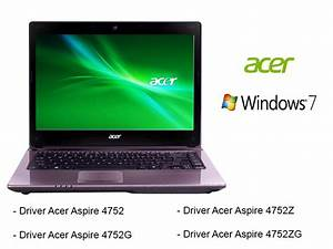 Acer Aspire 4752 Drivers Windows Xp