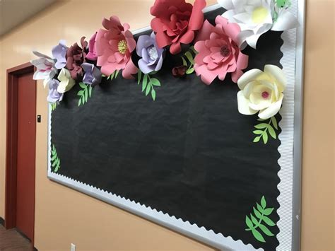 staggering classroom decorating idea  elementary school