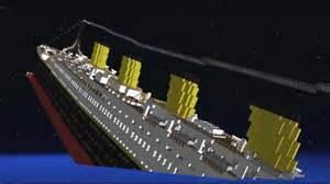 minecraft el titanic hundiendose youtube