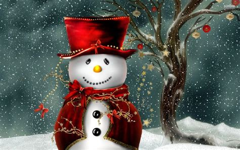 Animated Snowman Wallpaper - free snowman wallpapers wallpaper cave