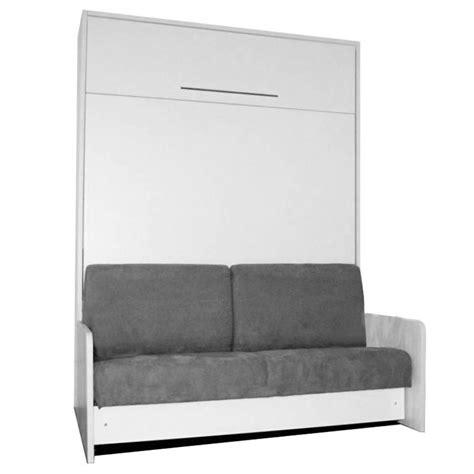 lit canapé escamotable armoire lit escamotable avec canapé intégré au meilleur