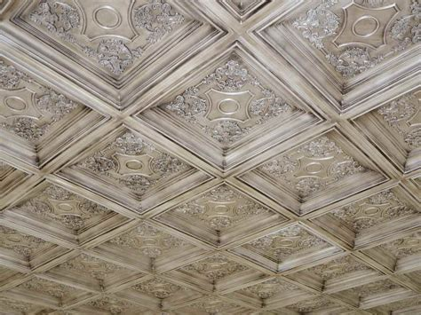 how to repairs how to paint tin ceiling tiles