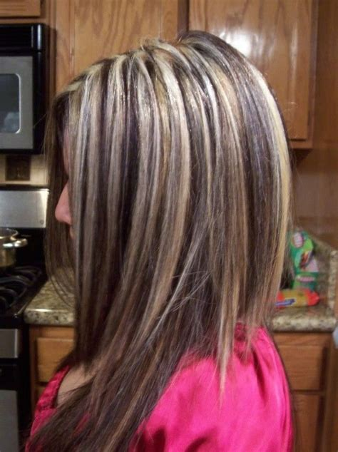 Highlights And Brown Lowlights Hairstyles by Highlights With Brown Lowlights Underneath Misc
