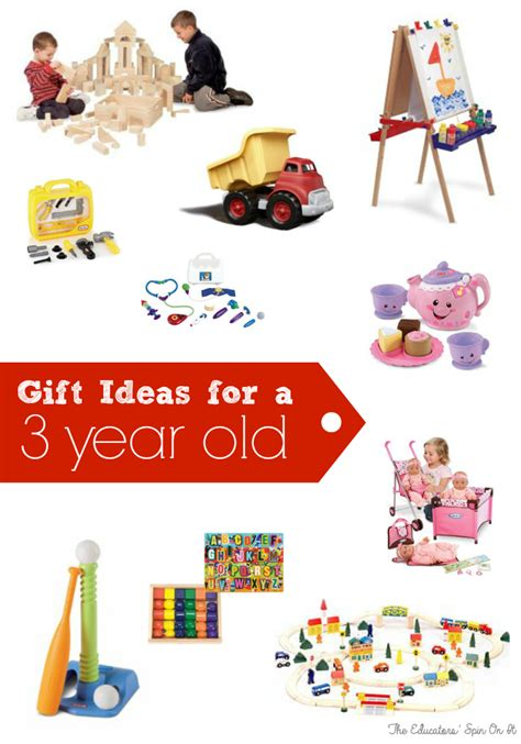 The Educators' Spin On It Birthday Gift Ideas For Three