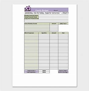 Budget Summary Template 18 Free For Excel Pdf