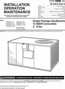 All Units Trane Air Conditioning Manual