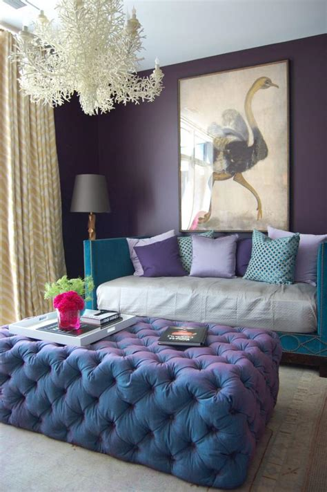 pouf chambre la chambre violette en 40 photos