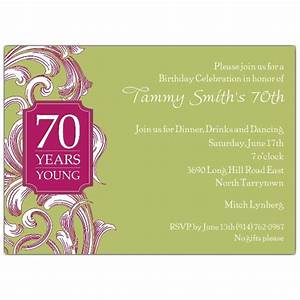 Blank Scroll Invitations 70th Birthday Border Scroll Moss Invitations Paperstyle