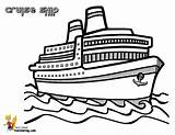 Ship Cruise Pages Drawing Coloring Ships Liner Boats Shipping Illustrations Template Frames Bahamas Colour Templates Cruises Boys Carnival Yescoloring Sheets sketch template