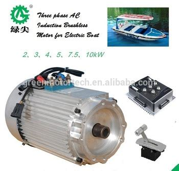 Electric Boat Motor With Battery by 5kw 48v Battery Powered Electric Inboard Boat Motor Boat