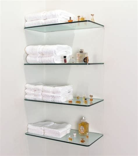 Glass Wall Shelves For Bathroom by 100 Floating Shelves For Storing Your Belongings