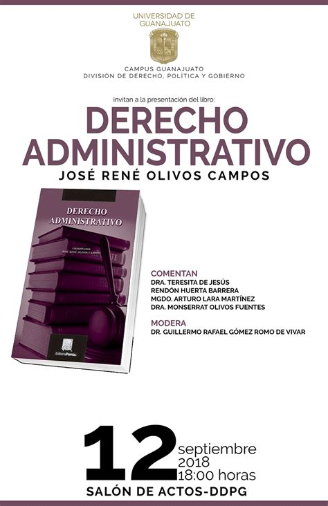 presentan libro sobre derecho administrativo