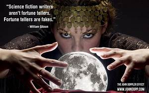Writers Aren't Fortune Tellers... on The John Doppler Effect