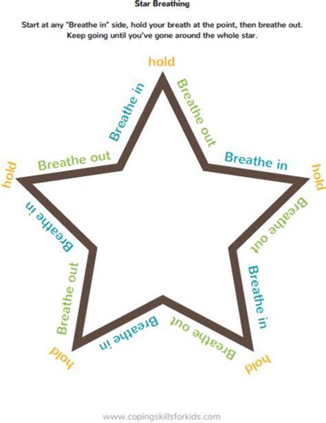 deep breathing printables coping skills mindfulness