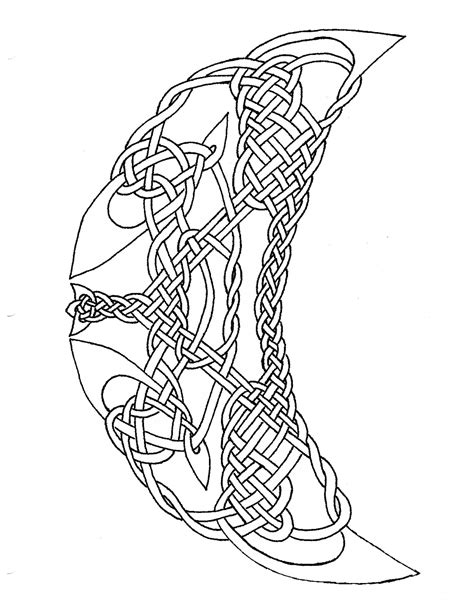 Celtic Cross Coloring Page Coloring Home