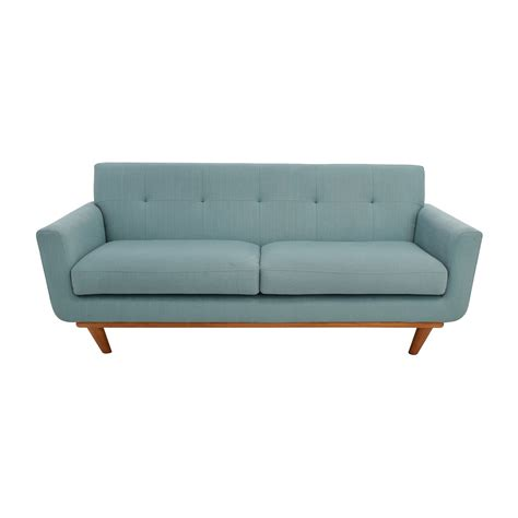 Teal Tufted Sofa by 59 Midcentury Modern Tufted Light Teal Loveseat