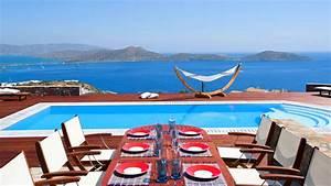 grece location vacances villa crete elounda With location villa bord de mer avec piscine 4 location villa luxe guadeloupe