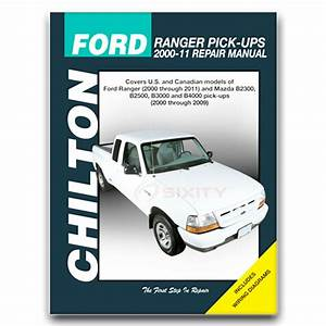 Ford Ranger Chilton Repair Manual Fx4 Stx Edge Xlt Sport