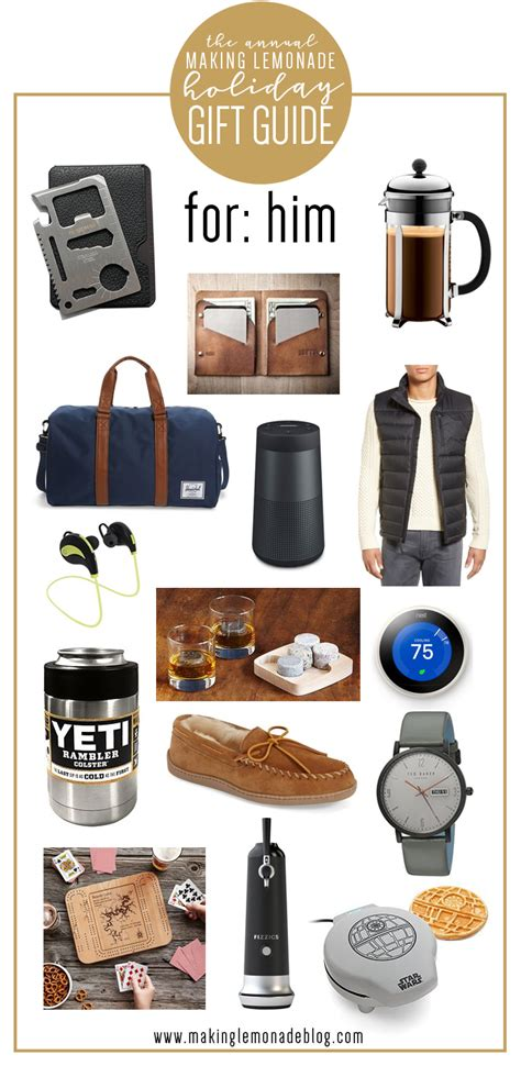 Gifts For Him best gifts for him gift guide lemonade