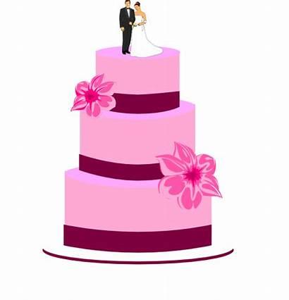 Cake Clipart Transparent Clip Bride Groom Vector