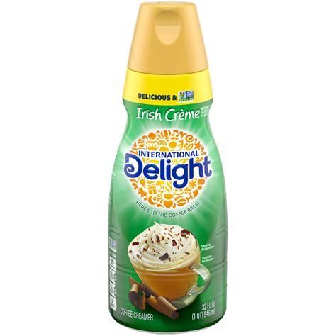international delight irish creme coffee creamer  quart