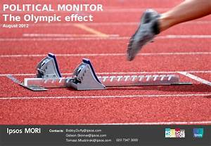 Ipsos MORI Poll: The Olympic Effect: August 2012