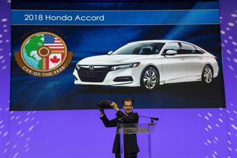 2018 Honda Accord Is North American Car Of The Year