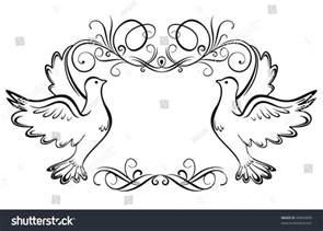 wedding vector wedding frame stock vector illustration 49454830