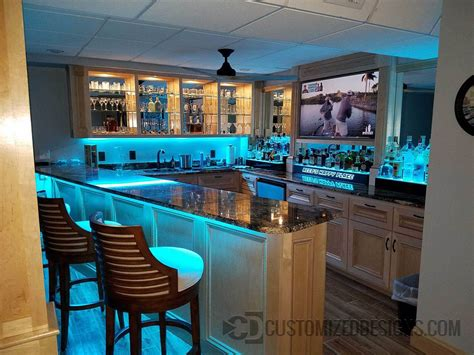 The Home Bar by 200 Home Bar Ideas Led Lighted Bar Design Gallery For