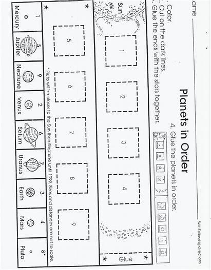 Space Planets Outer Kindergarten Activities Science Preschool