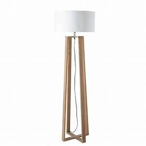 Lampadaire Maison Du Monde : 25 best ideas about lampadaire bois sur pinterest ~ Premium-room.com Idées de Décoration