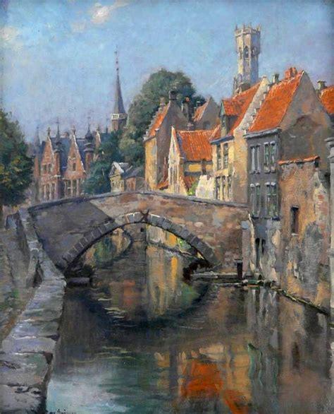 canal  bruges puzzle en ponts puzzles sur